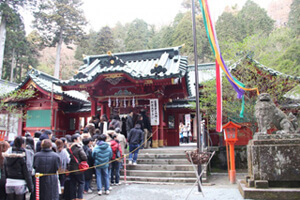 箱根神社の参拝者